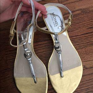Michael Kors heeled sandal shoe